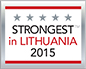 JND Ltd. Strongest in Lithuania 2015